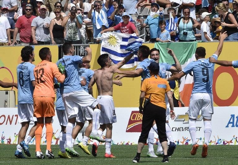 Uruguay consigue medalla de Oro en fútbol en Juegos Panamericanos