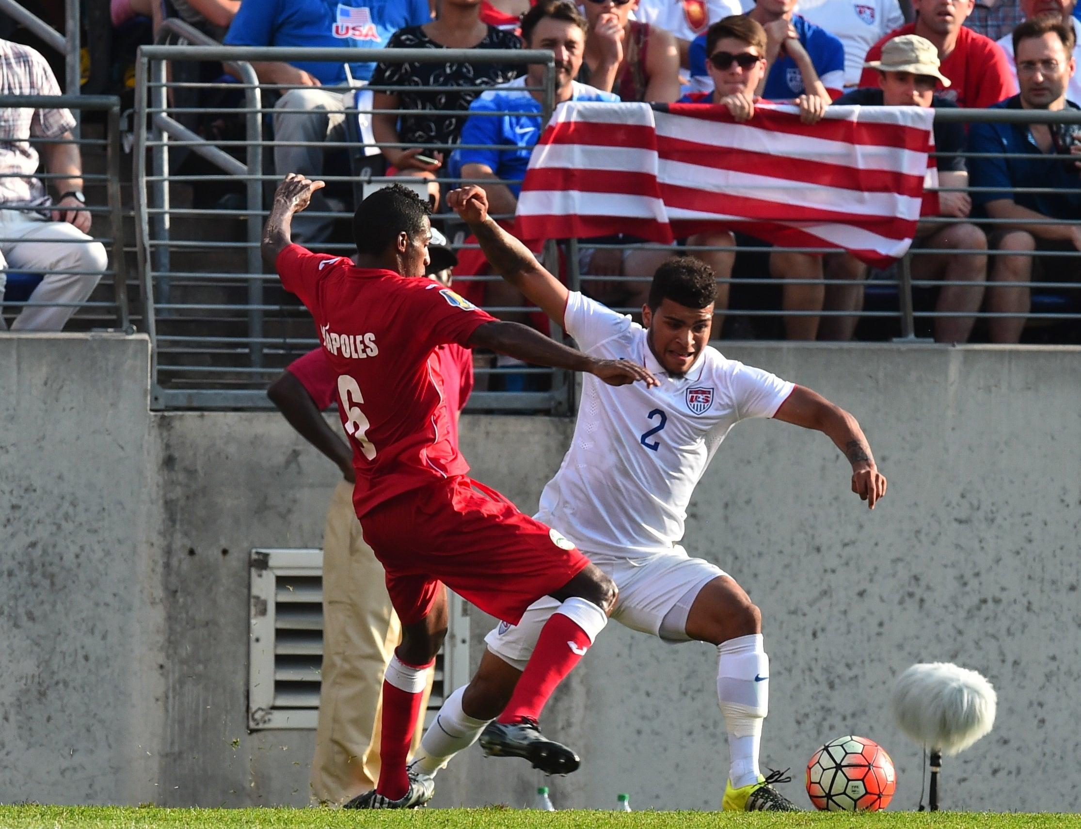 EEUU apabulla a Cuba 6-0 y es semifinalista de la Copa Oro