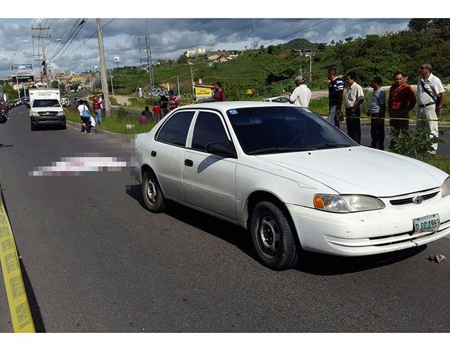 Tegucigalpa: Joven estudiante muere tras ser embestido por vehículo