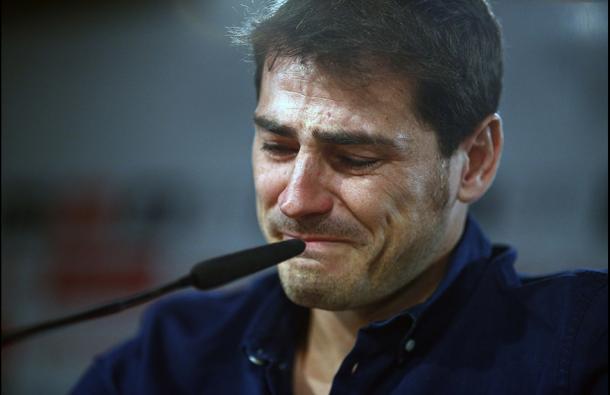 Iker Casillas se despide del Real Madrid