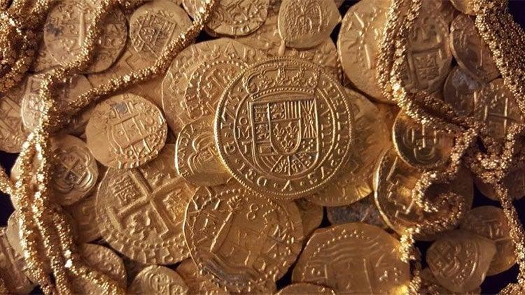 Una familia de EEUU halla el valioso tesoro de un barco español hundido en 1715