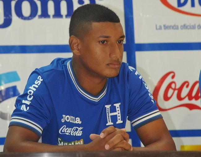 """Bryan Acosta: """"Nos toca sacar la cara por el país"""" -La Sub-23 de Honduras"""