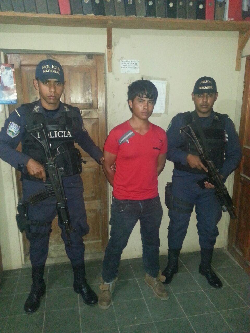 Honduras: Lo captura con media libra de supuesta marihuana