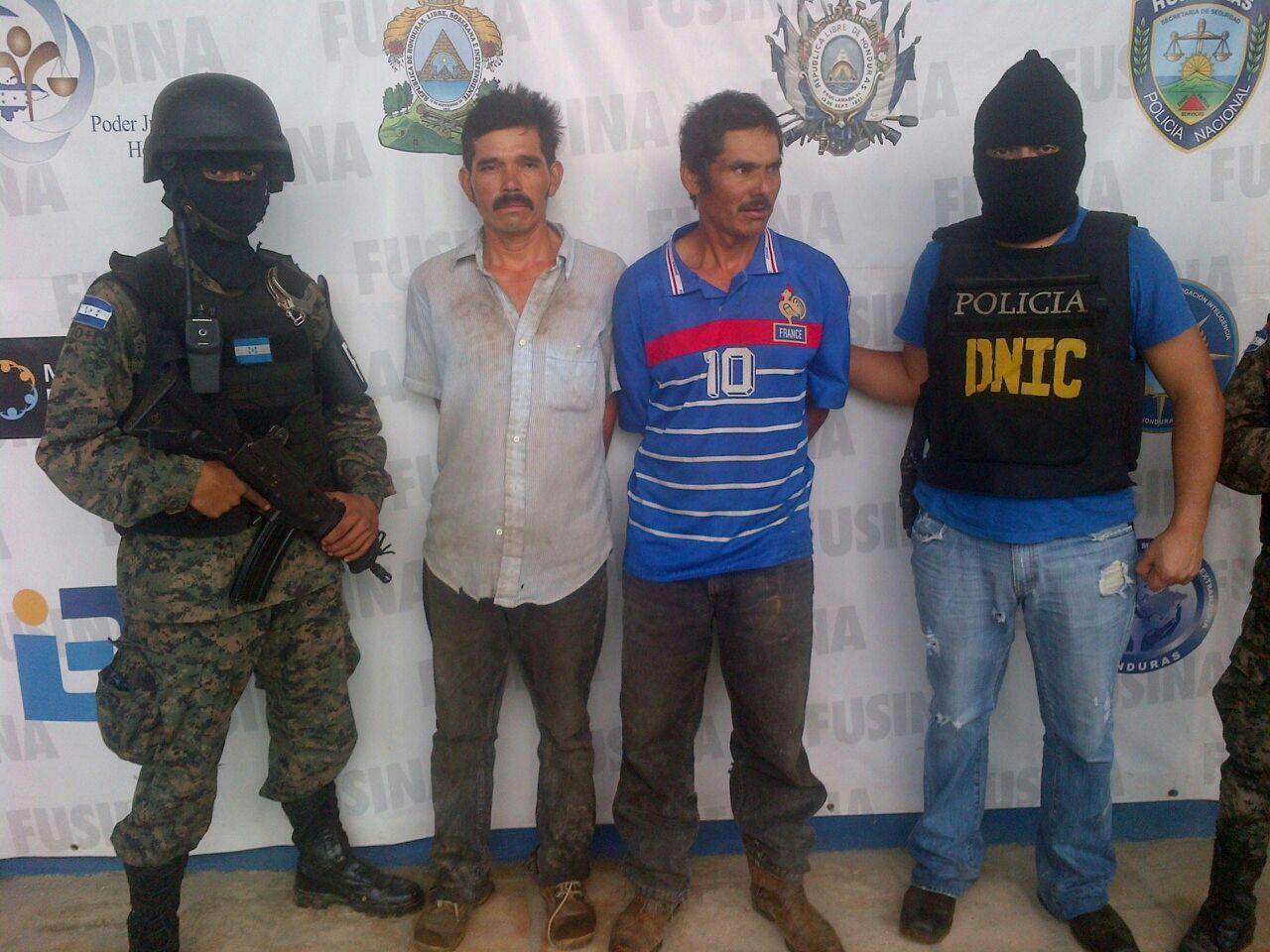 Honduras: Capturan a dos hombres acusados de homicidio