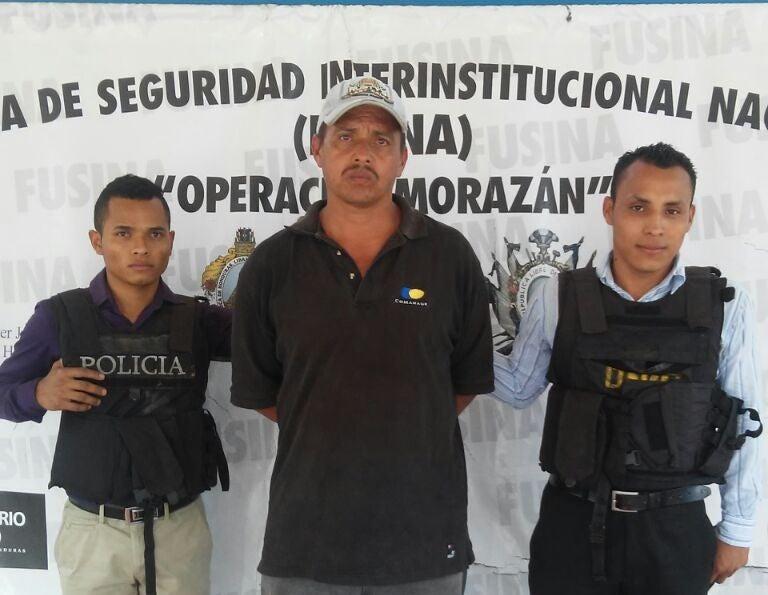 Honduras: Lo capturan por asesinar a un señor en Catacamas