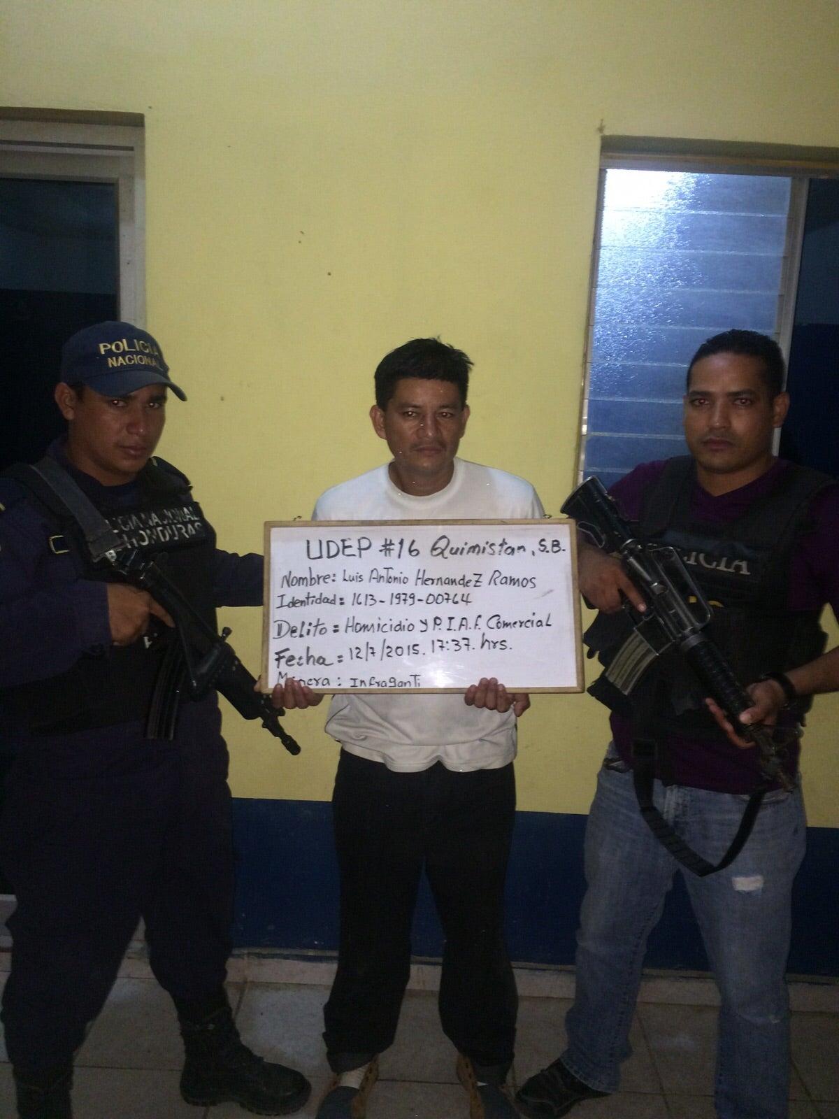 Honduras: La Policía capturó a supuesto homicida