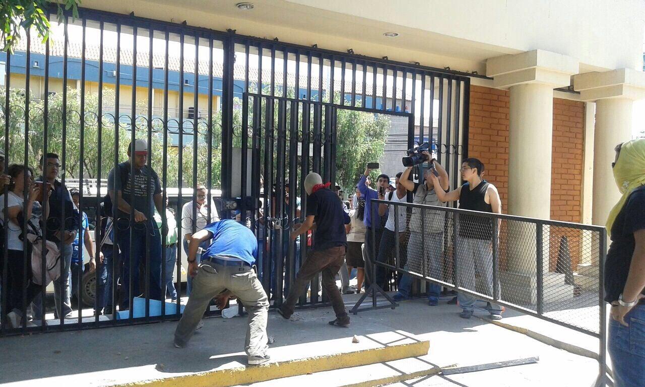 Honduras: Abren los portones de las instalaciones de la Pedagógica