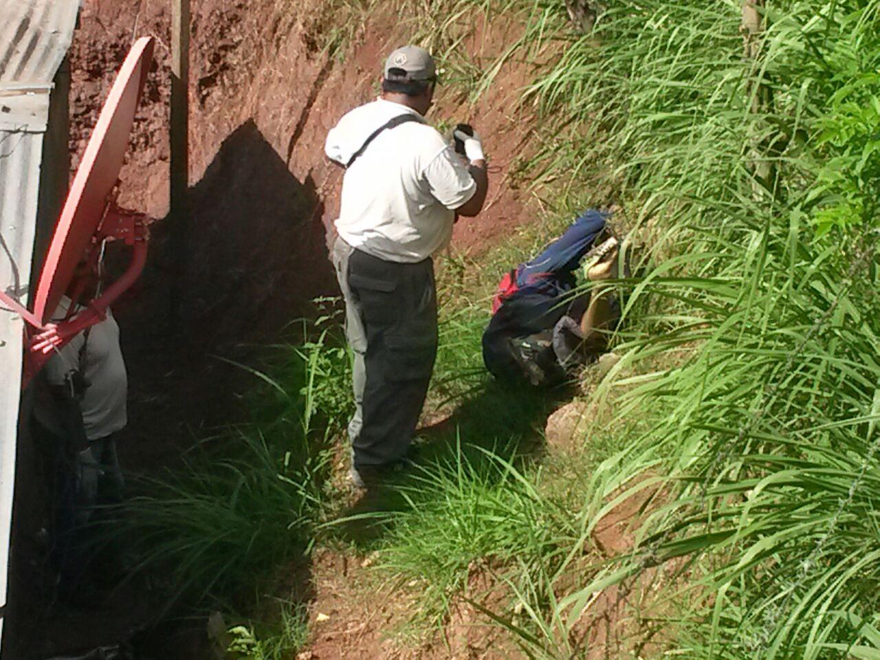 Honduras: Policía encuentra hombre muerto en El Carrizal