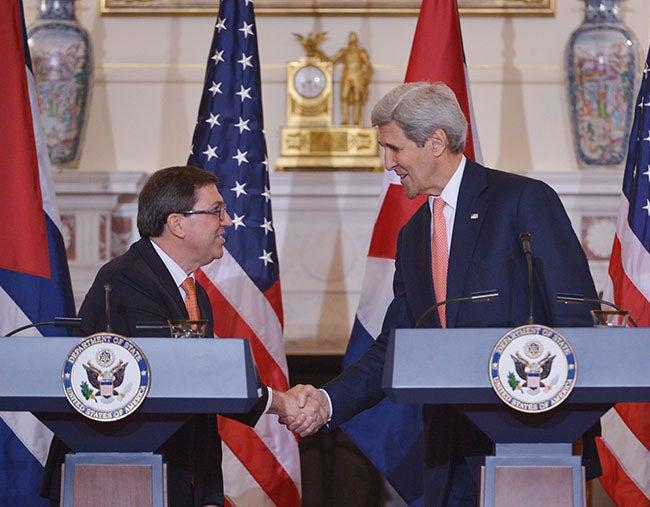 Kerry: ruta a relaciones con Cuba será larga y compleja