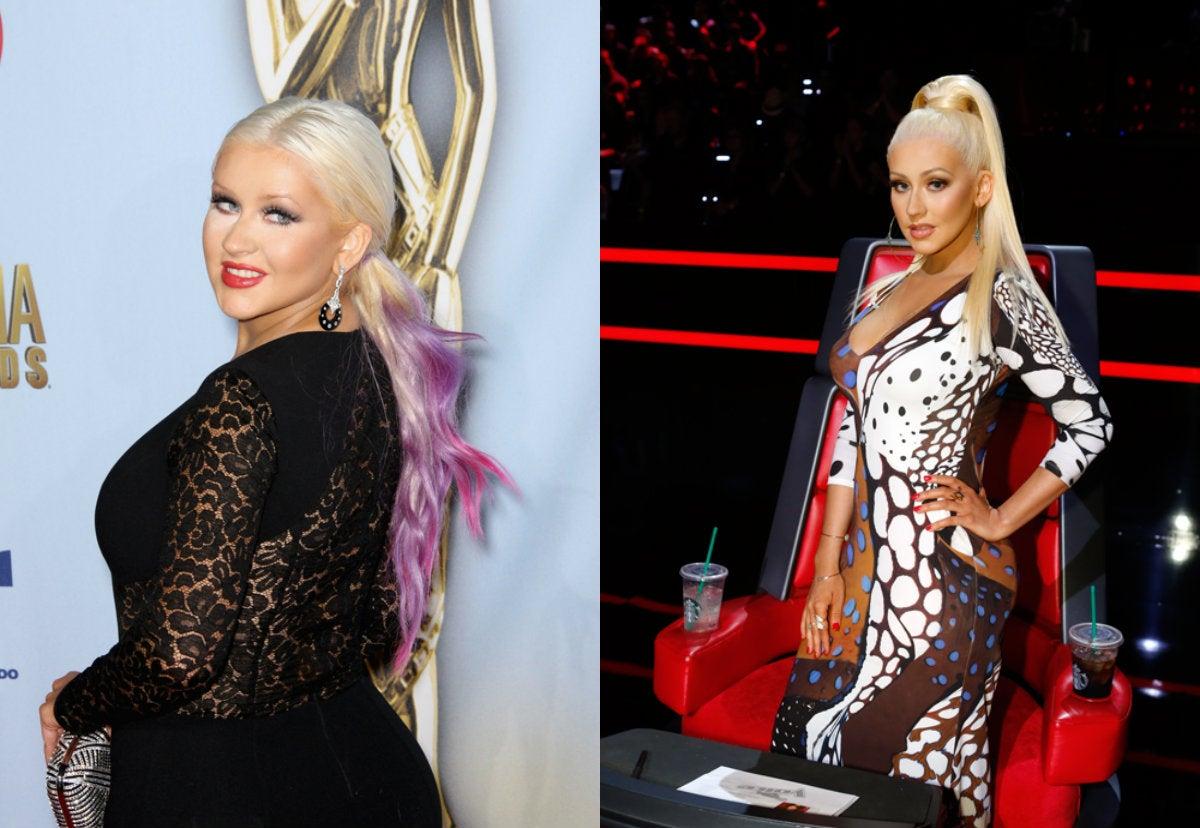 Christina Aguilera confesó su secreto para perder kilos