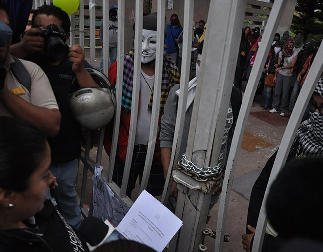 Volverán las protestas contra la reforma, anuncian estudiantes