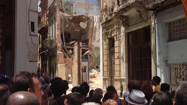Cuba: El derrumbe de un edificio causa cuatro muertos en La Habana