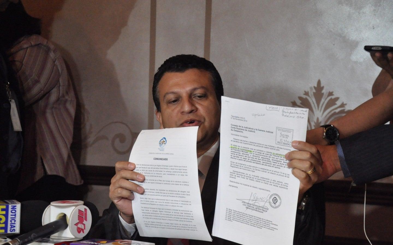 Teodoro Bonilla: «Vamos a seguir con la depuración de jueces les guste o no les guste»
