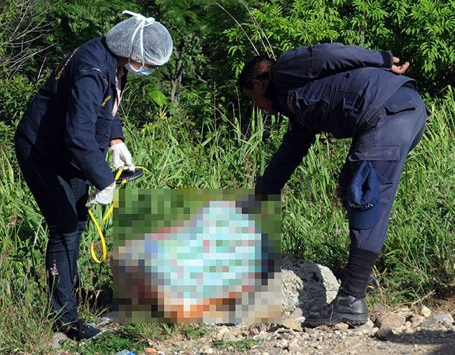 Otro ensabanado hallan en Las Areneras, botadero de cuerpos