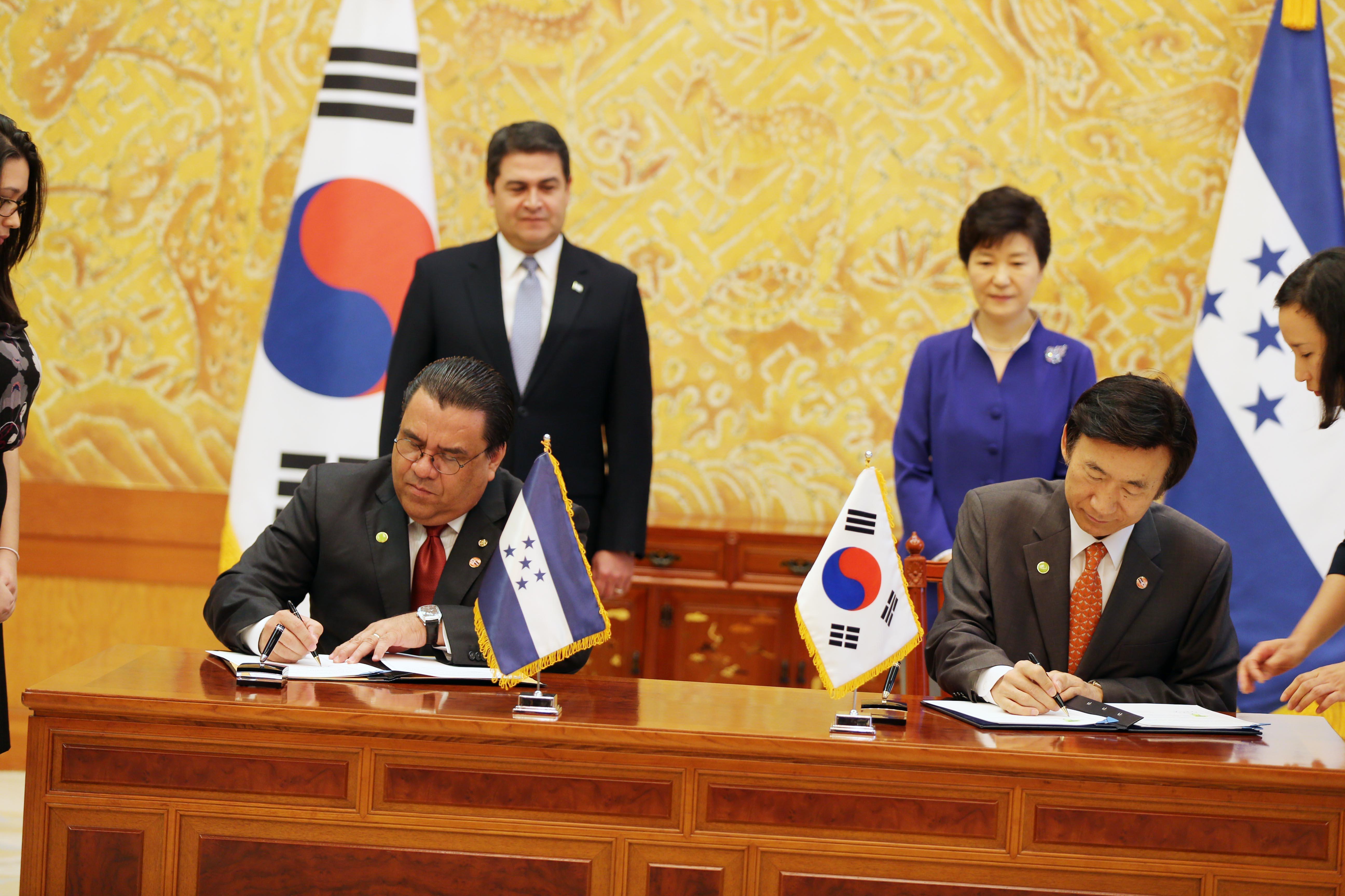 Honduras y Corea del Sur revitalizan el comercio y potenciar la cooperación