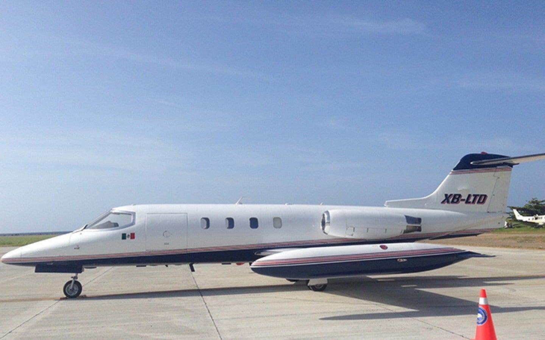 Jet que fue abandonado en Roatán ya está en Tegucigalpa
