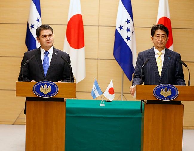 JOH ofrece a Japón respaldo en la ONU