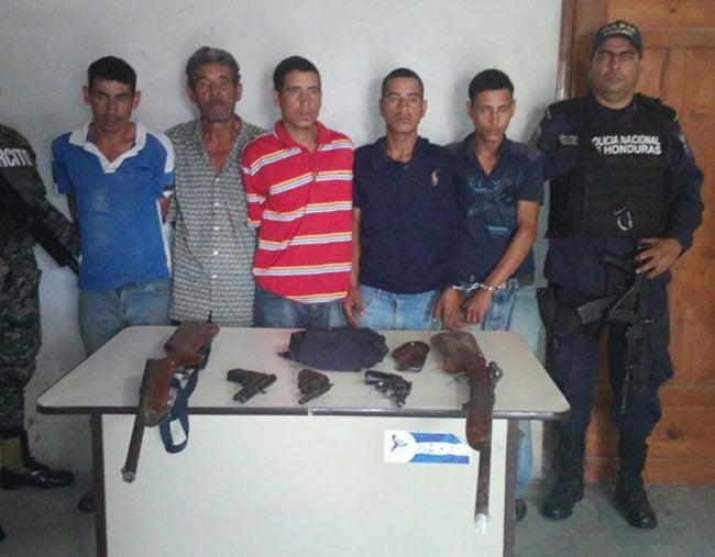 DNIC desarticula banda criminal en Teupasenti