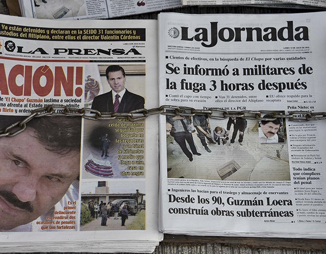 Desde su guarida El Chapo impugna extradición
