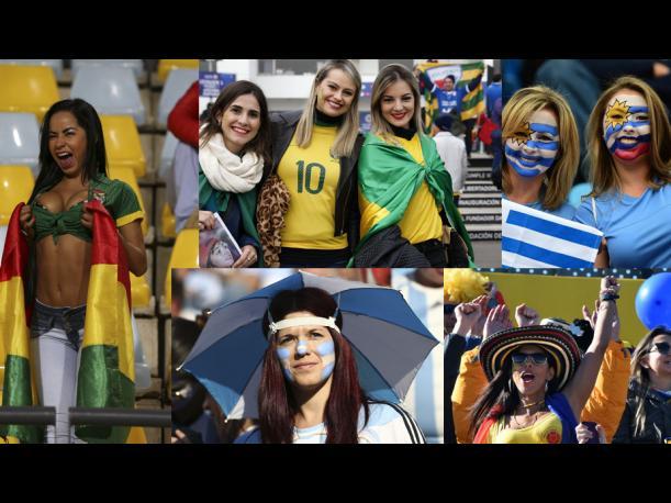 VIDEO: Las mujeres más bellas de la Copa América 2015