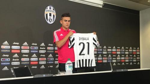 Dybala usará camisa histórica de la Juventus