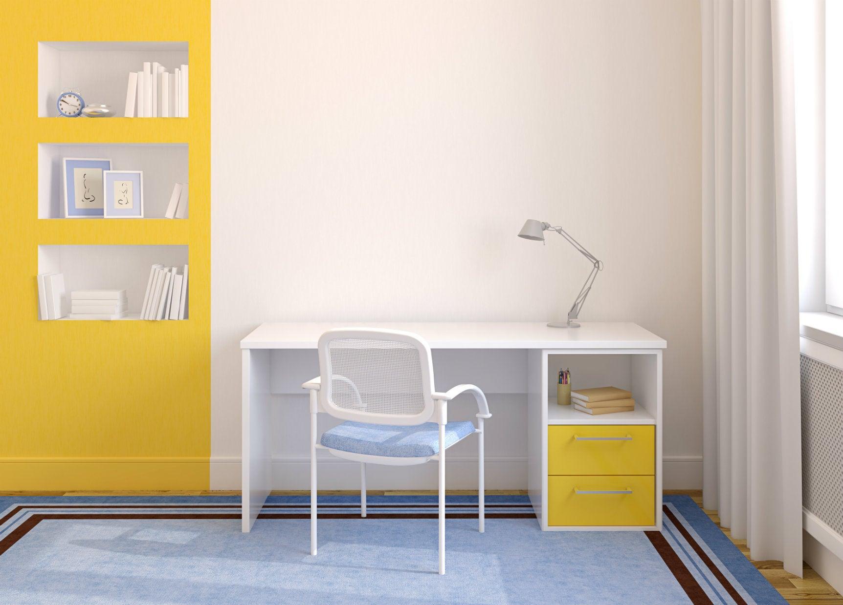 Decoración: Amplíe los espacios pequeños con la luz y el color correcto
