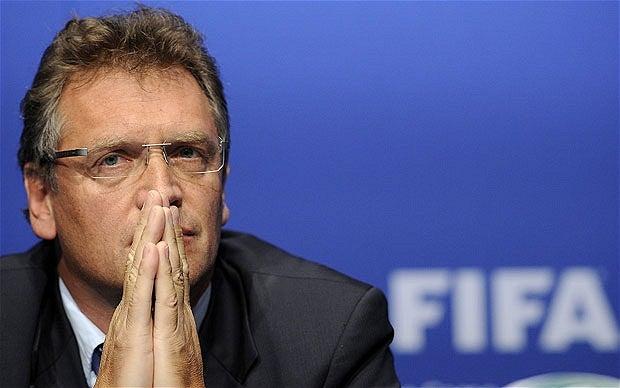 Valcke destaca diferencias de preparación de Mundiales de Brasil y Rusia