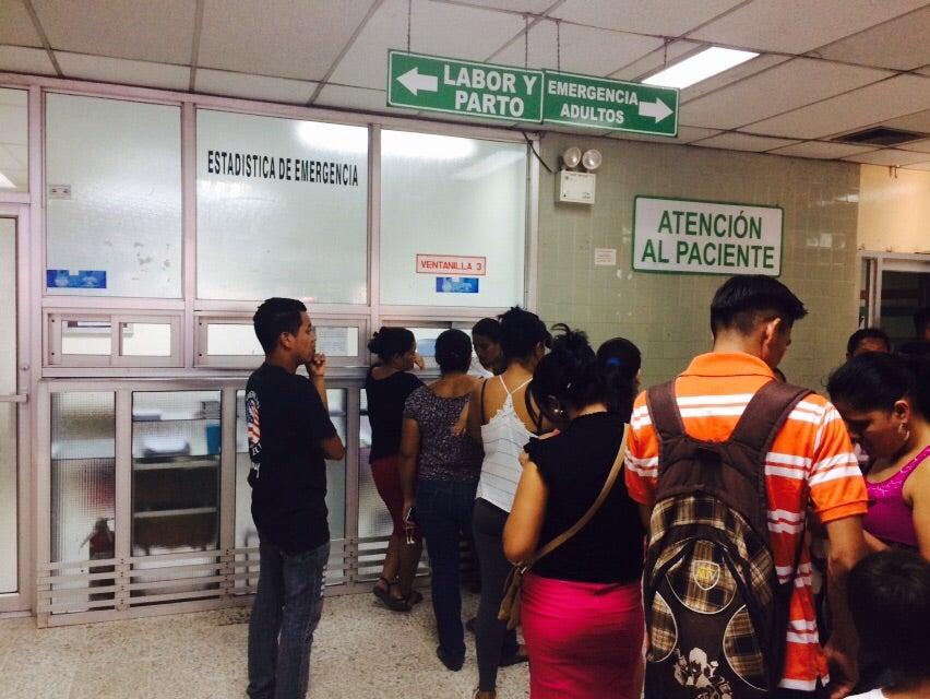 Personal de estadística de urgencias del Hospital Mario Rivas paralizan labores