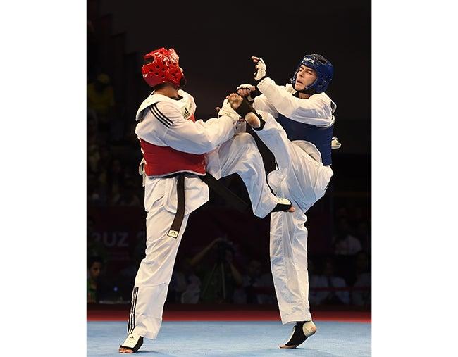 Taekwondo: Ferrera y Molina, cayeron en primera ronda