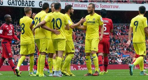 Villarreal derrotó al Lyon de Francia