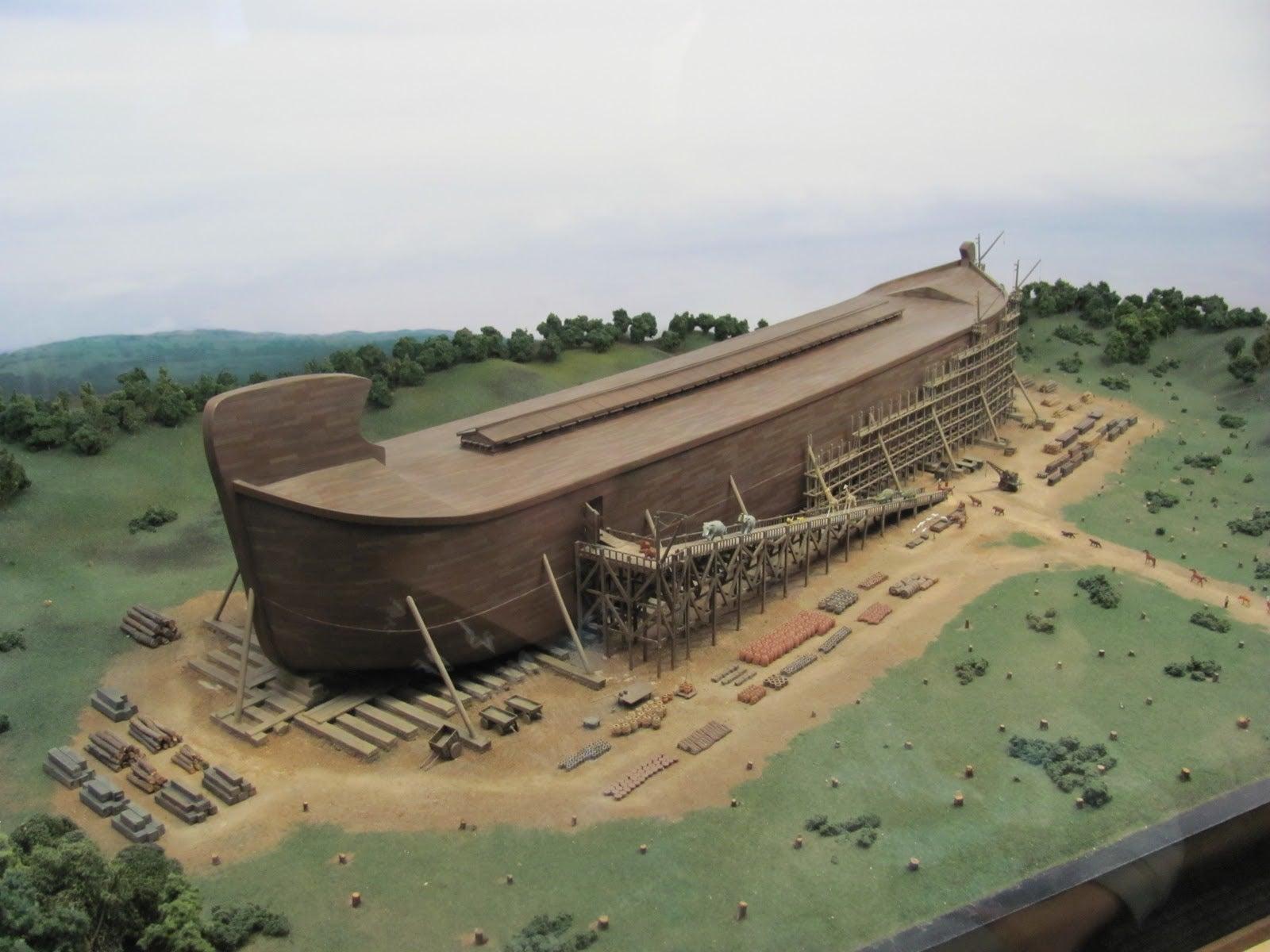¿Por que construyen en EEUU una réplica del «Arca de Noé»?