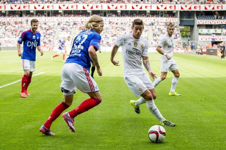 Real Madrid empata ante en Valerenga