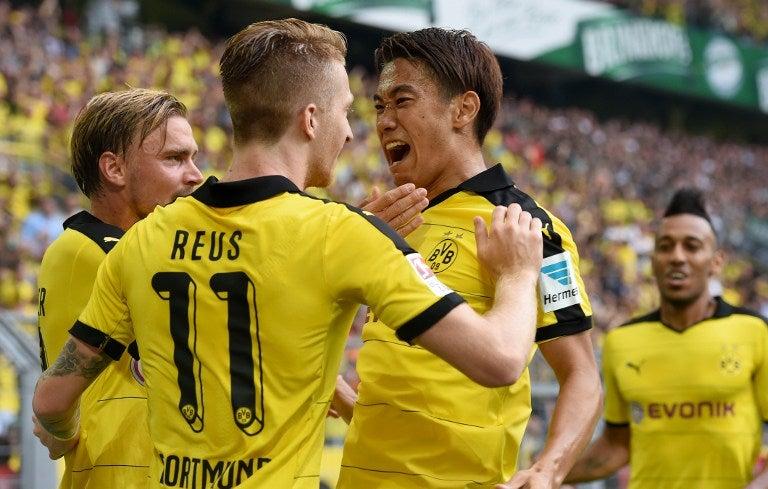 Borussia Dortmund con nuevo técnico comienza goleando