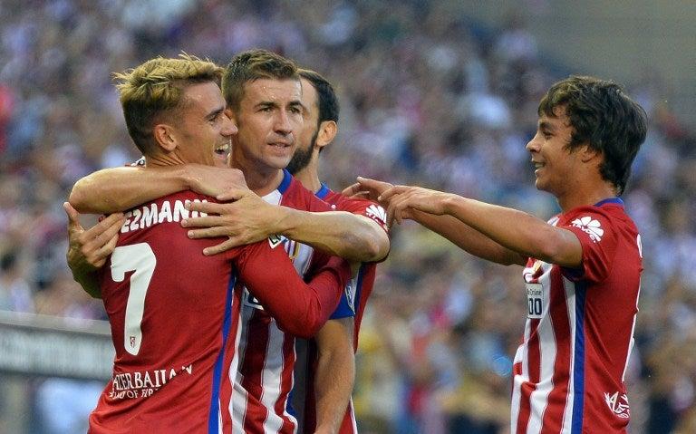 Antoine Griezmann le da el primer triunfo de la temporada al Atlético de Madrid
