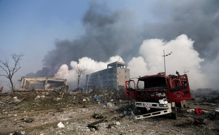 Hijo de exjefe de policía de Tianjin implicado en caso de explosiones