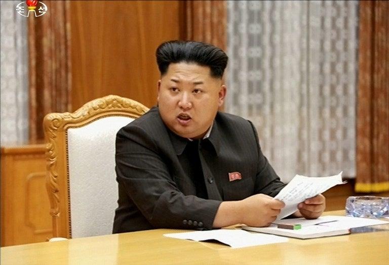Kim Jong-un pone a Corea del Norte en pie de guerra