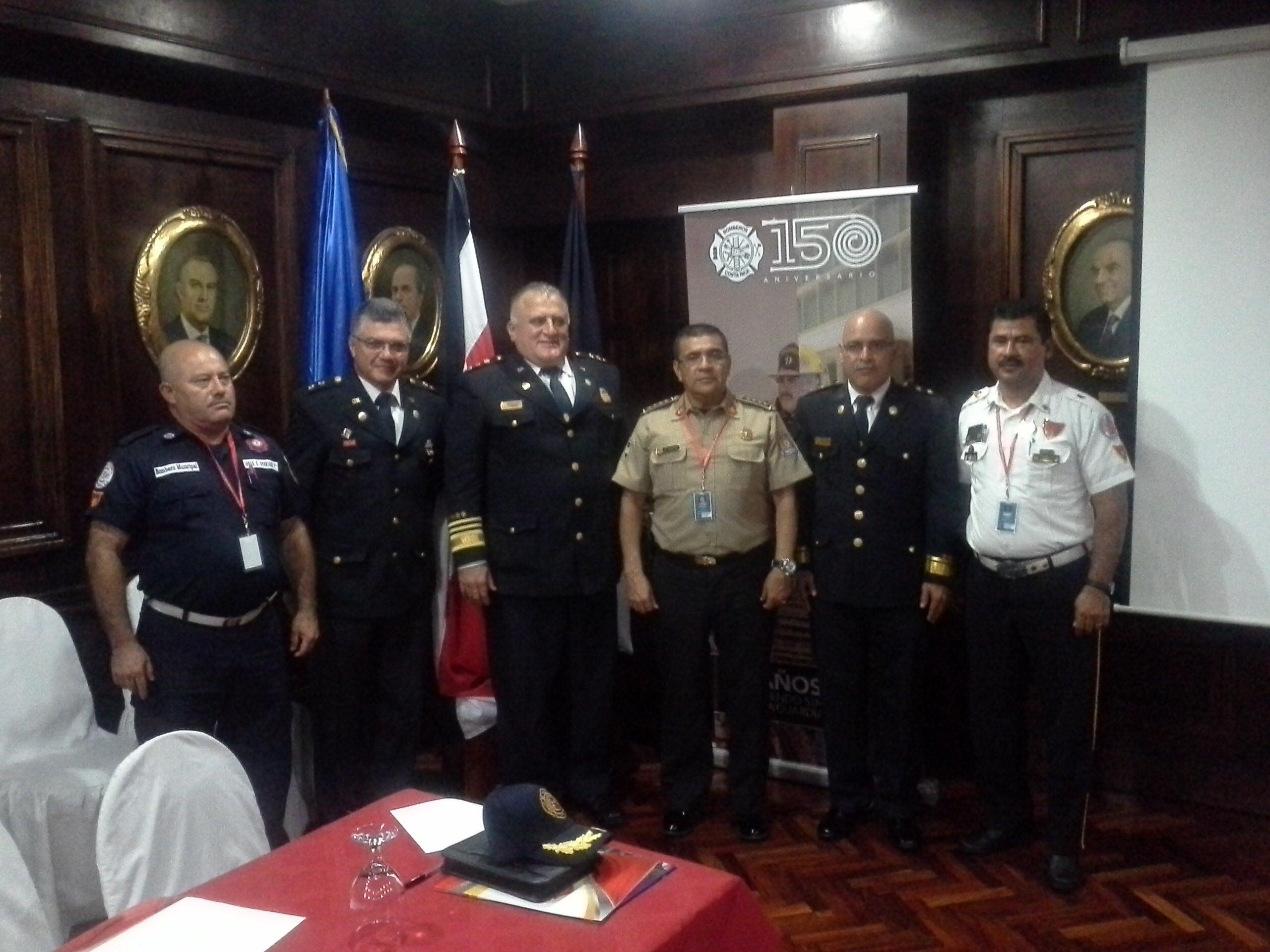 Confederación de Cuerpos de Bomberos del istmo  eligen nueva Junta Directiva