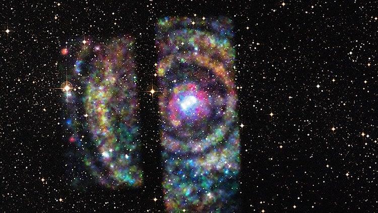 Astrónomos descubren la estructura más grande del universo