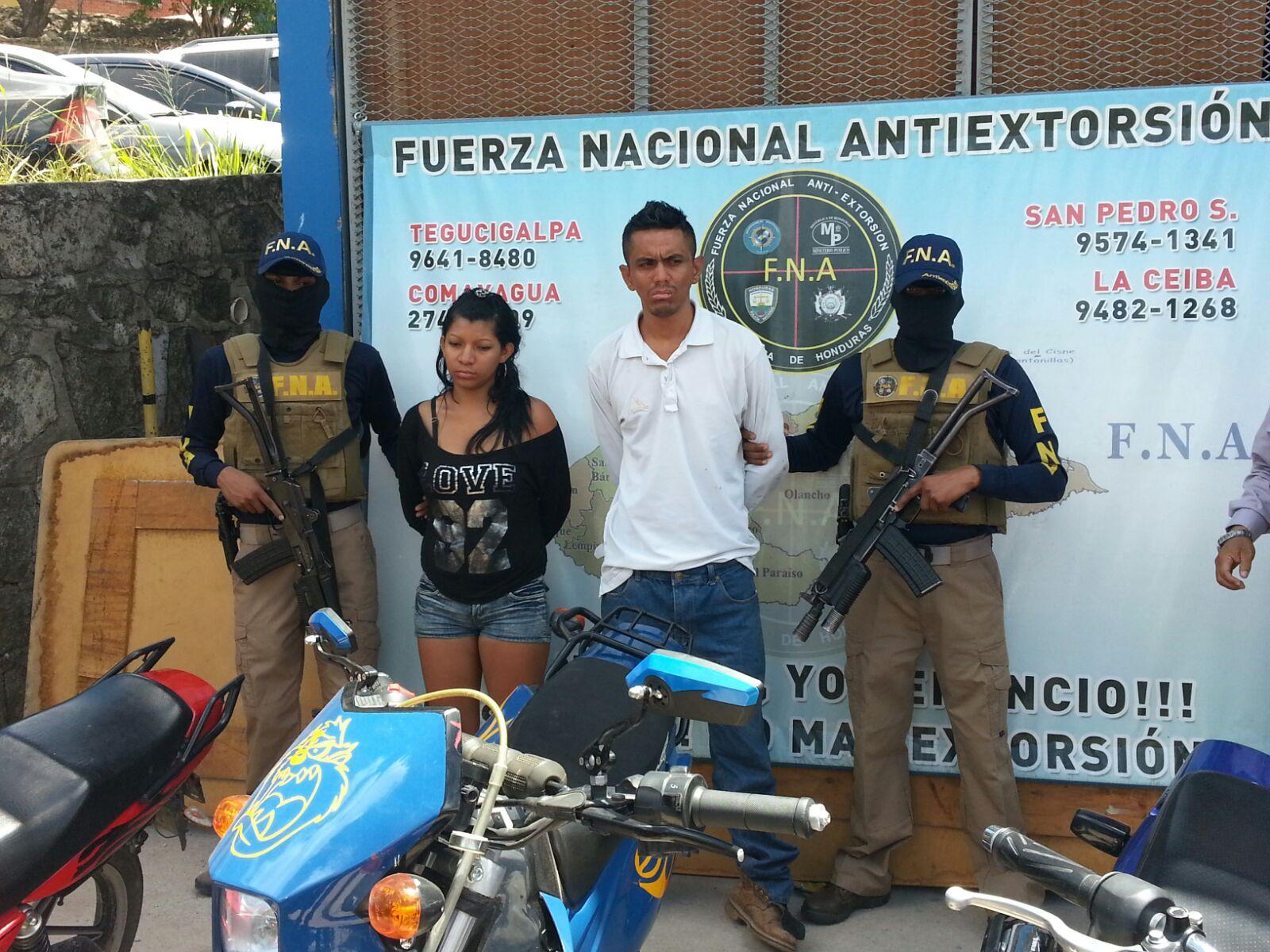 Honduras: Capturan a dos miembros activos de la mara 18 en la capital