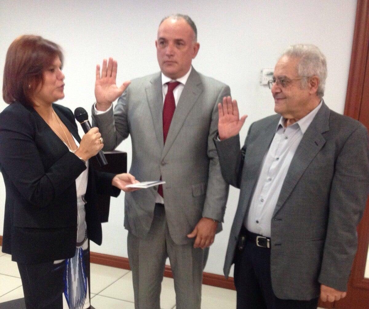 Cohep: Santiago Ruiz Cabos y Emin Barjum Mahomar, delegados de la Junta Nominadora