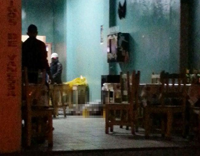 Honduras: Ultiman dueña de cantina y a cliente