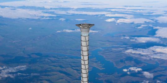 Canadá pretende construir ascensor que llevaría a los astronautas a la estratósfera