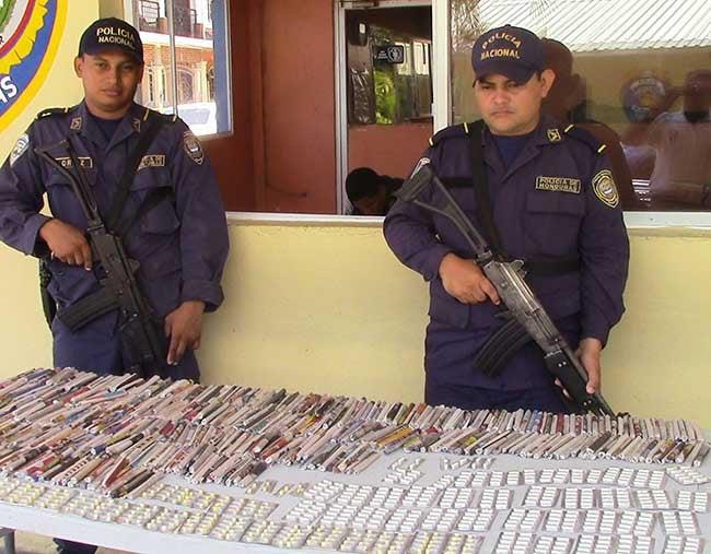 Decomisan droga en barrio Miramar