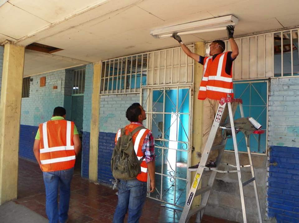 Invertirán 80 millones de lempiras en reparación de centros educativos de la capital
