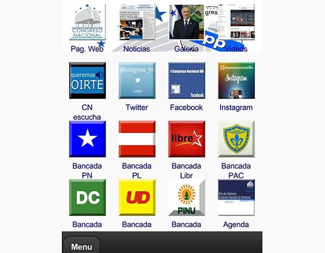 """Diseñarán """"App"""" especial para móviles de diputados en Honduras"""