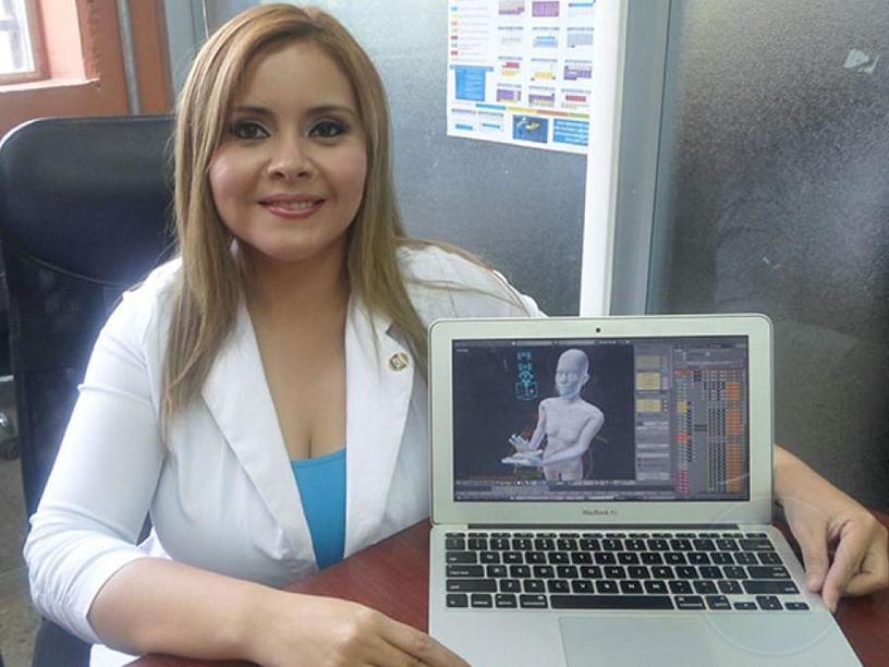 Hondureña crea programa para facilitar el aprendizaje de sordos
