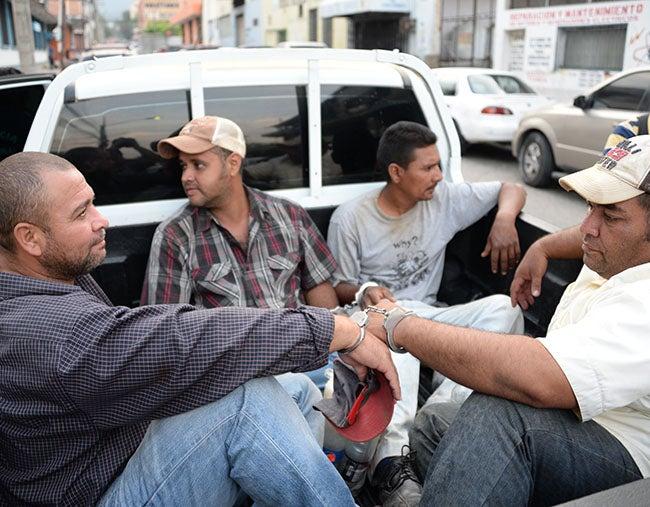 """Honduras: Juez manda al presidio a seis de la banda """"Los Solis"""""""