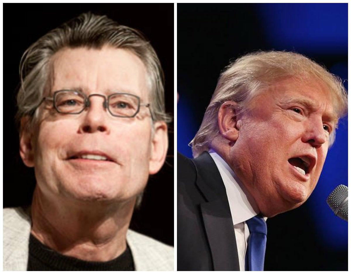 El eslogan que el novelista Stephen King le sugiere a Donald Trump
