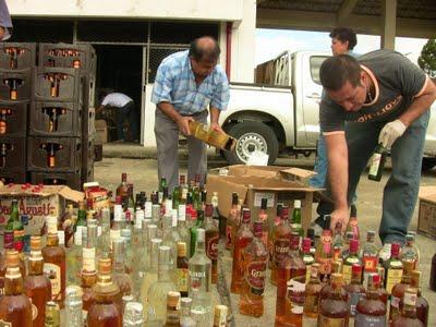 Honduras: Contrabando de licor deja pèrdidas hasta de 23.5 millones de dólares en tributos