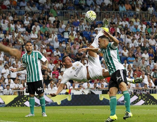 James y Keylor estrellas en triunfo del Madrid